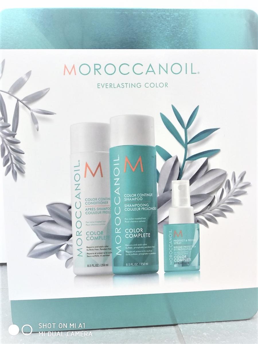 Moroccanoil zestaw COMPLETE YOUR COLOR