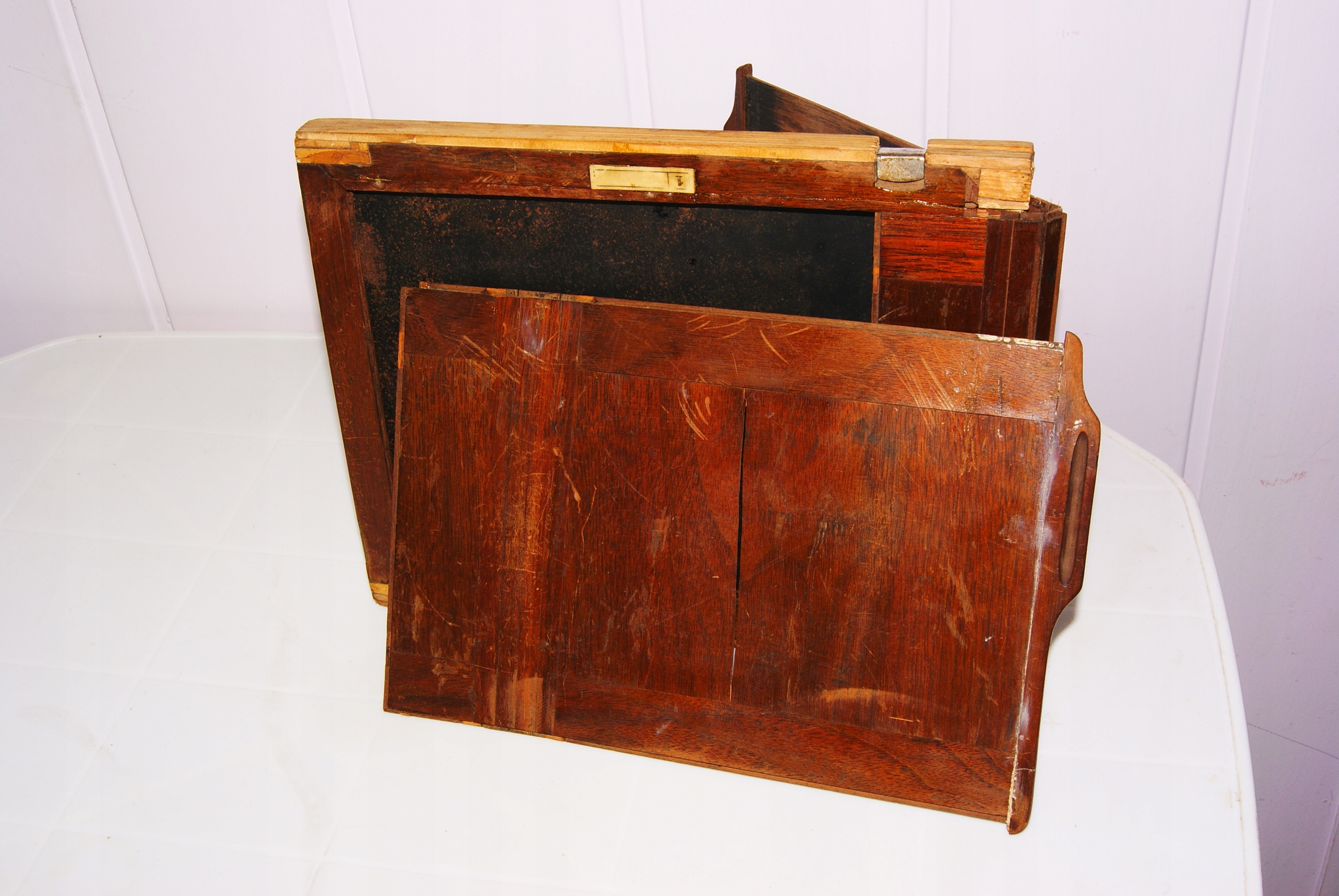 stara drewnianakaseta 18x24-dwustronna do podremon
