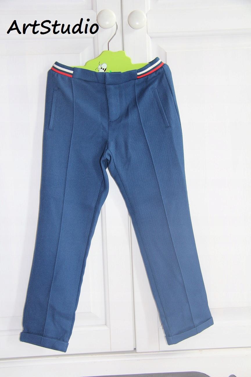 ZARA spodnie 128 CM 7/8 LAT