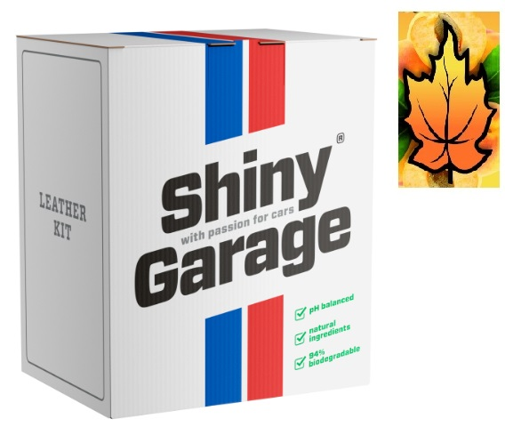 SHINY GARAGE LEATHER KIT SOFT ZESTAW DO SKÓRY