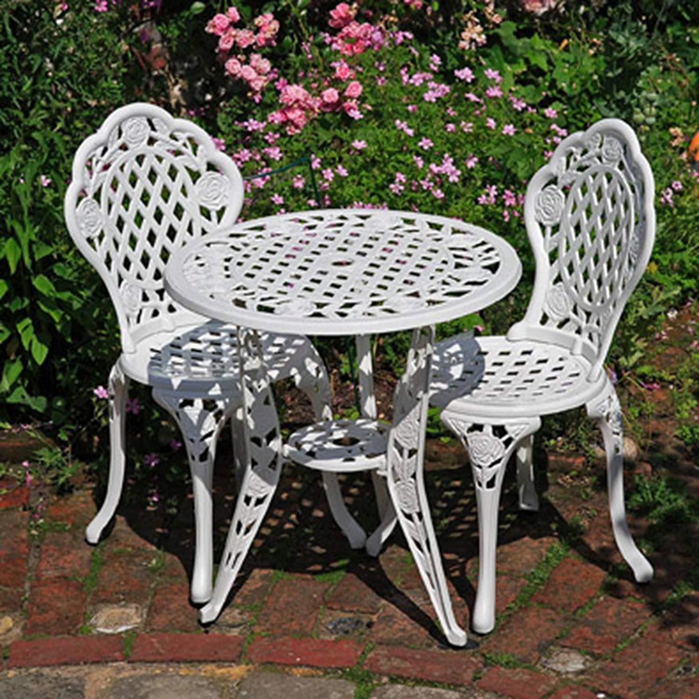 Meble Do Restauracji żeliwne Stolik 2 Krzesła 8101921927