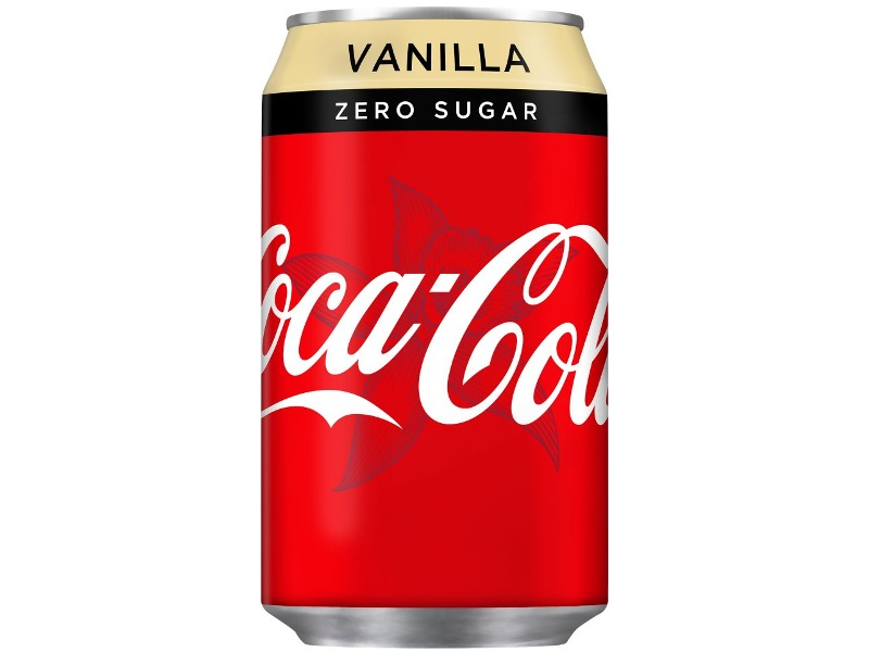 COCA-COLA Vanilla Zero Napój Gazowany 330ml HIT !