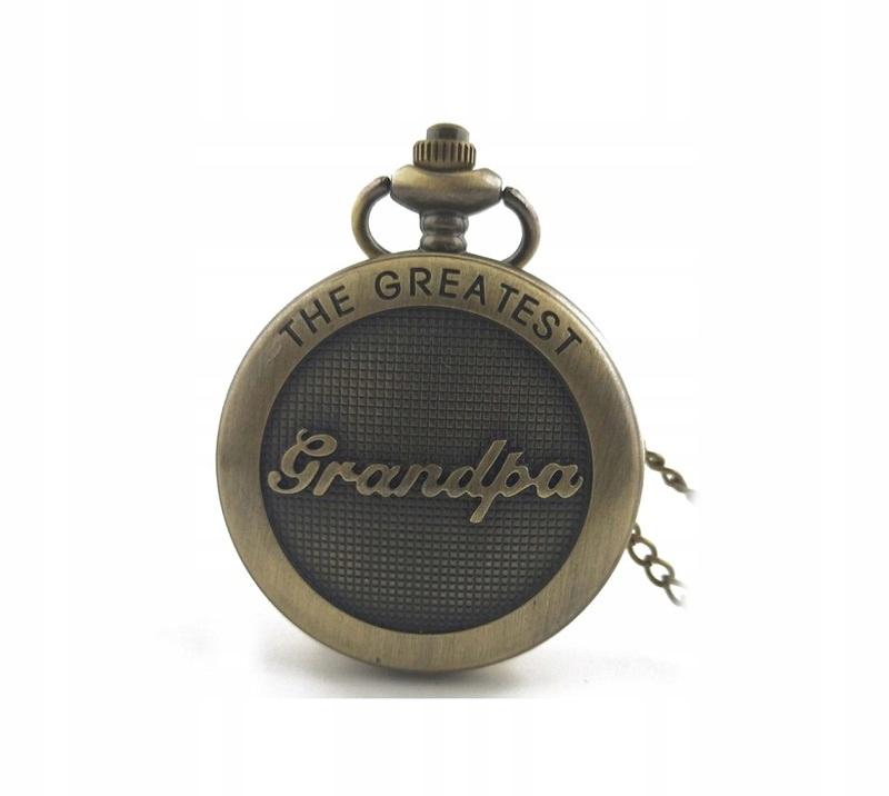 Zegarek Kieszonkowy Dla Dziadka Kwarcowy
