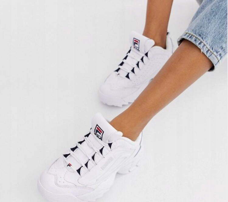 Fila Disruptor 3 White Trainers 39 bdb