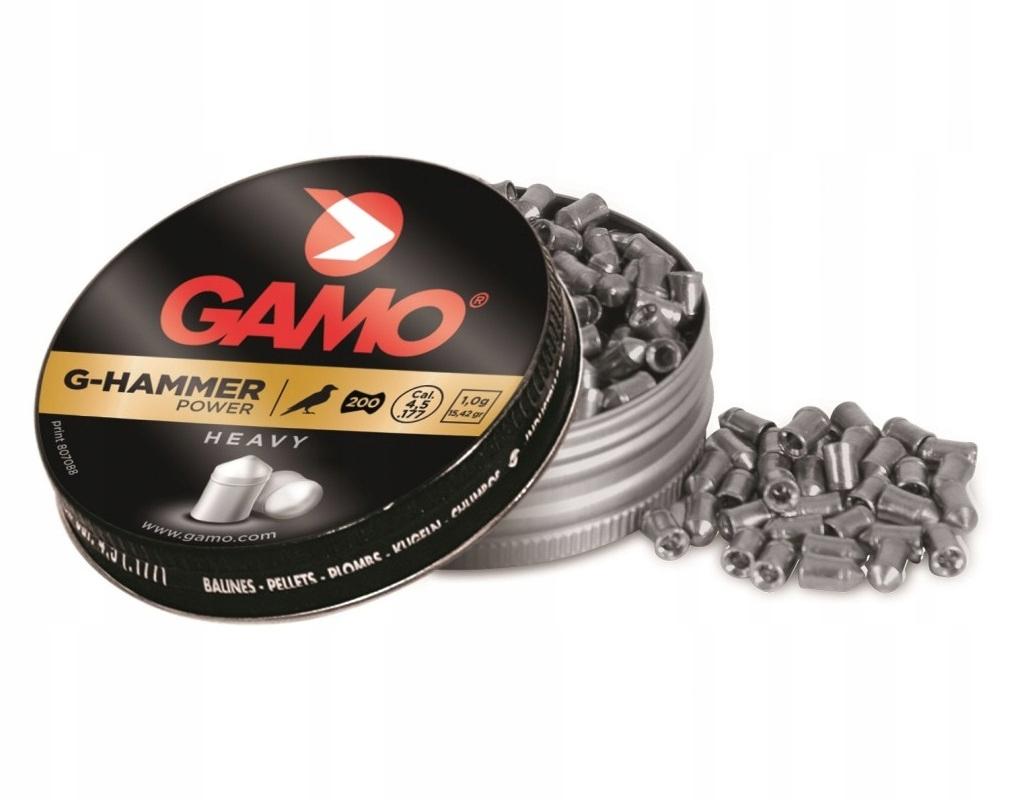 Śrut Gamo G-Hammer Energy 4,5 mm 200 szt.