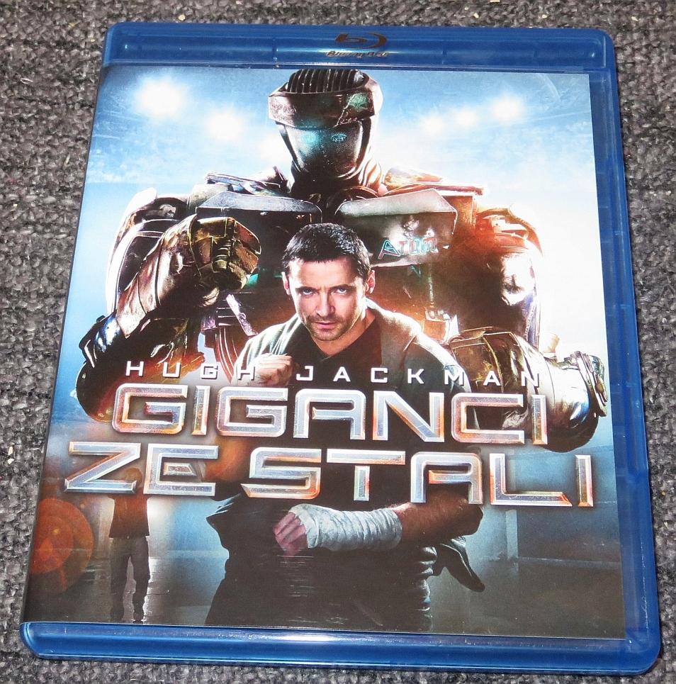 Blu-Ray: Giganci ze stali (2011) Real Steel