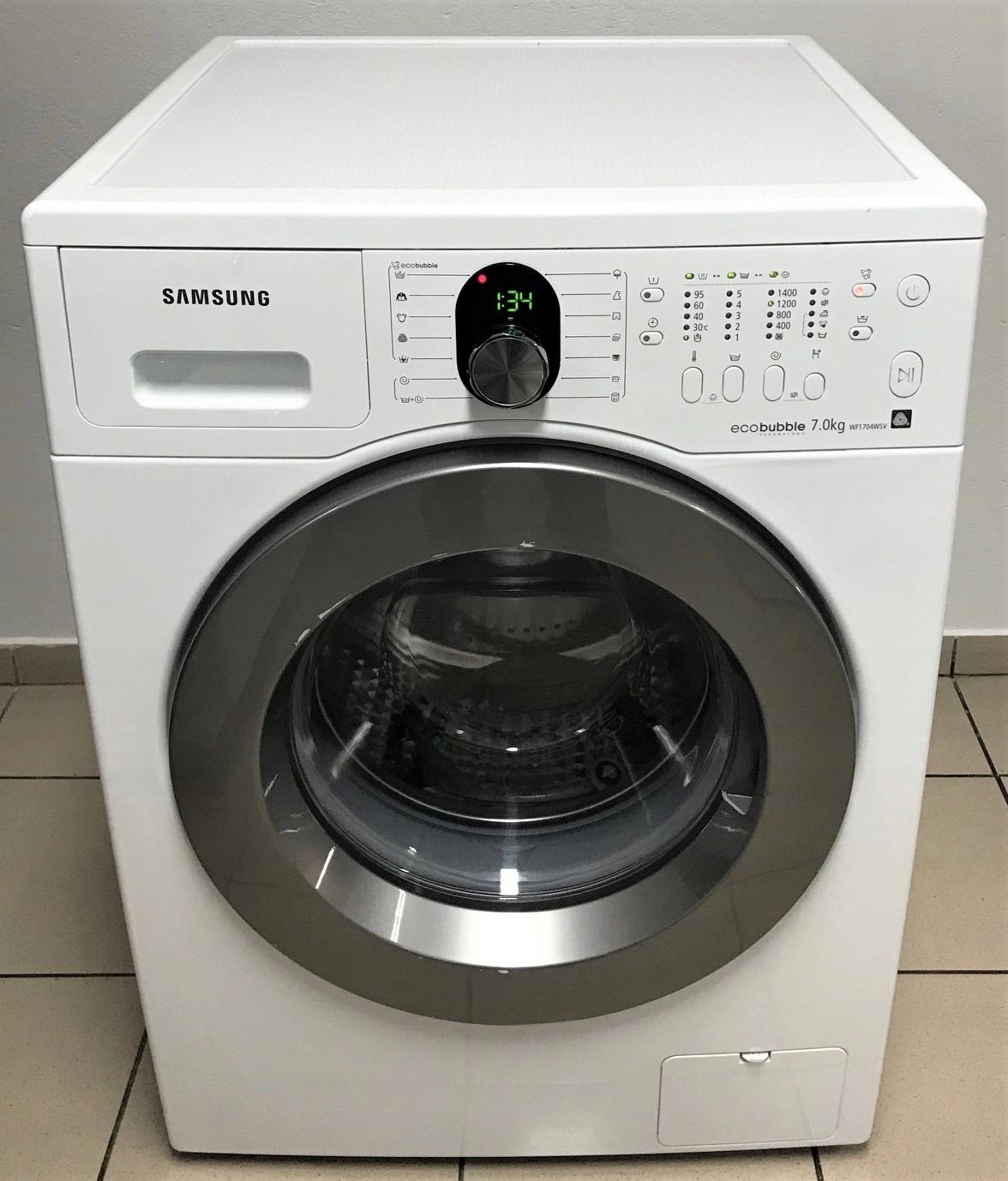 Pralka Samsung Eco Bubble 7kg A+++ 1400obr/min GW