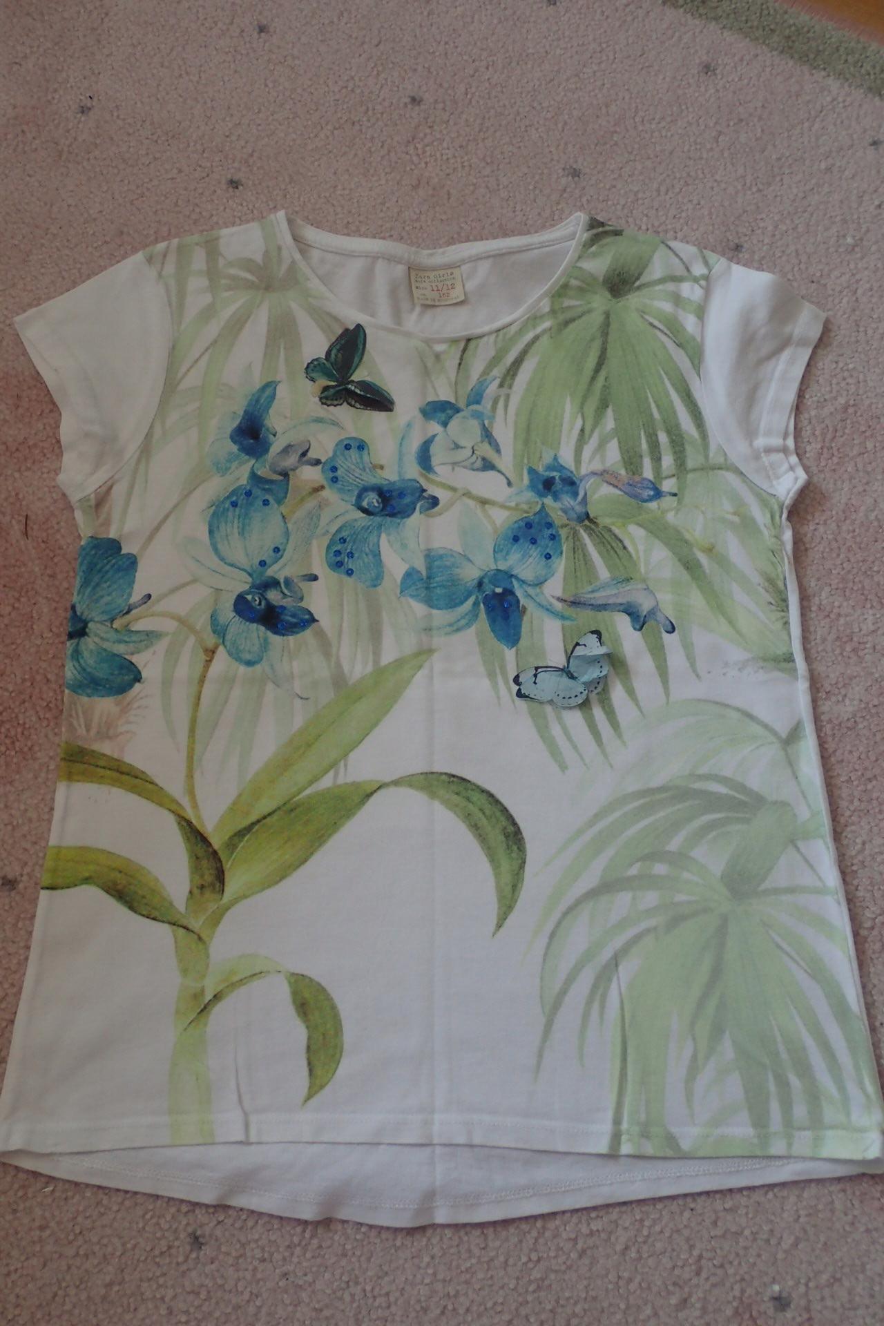 Bluzeczka ZARA GIRLS 11/12 lat 152 cm