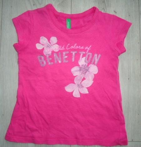 BENETTON śliczna bluzeczka koszulka r. 2lata