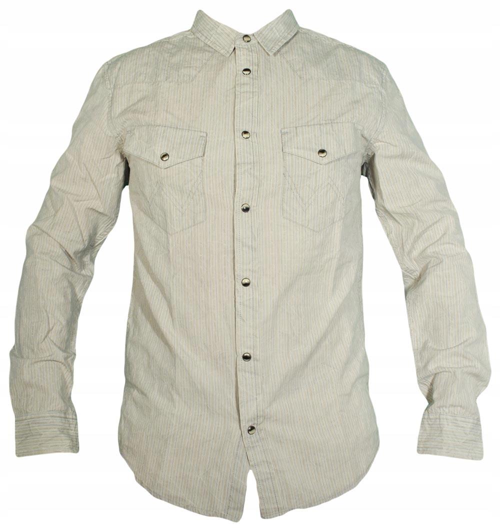 WRANGLER koszula super slim HANDCRAFTED SHT L 40