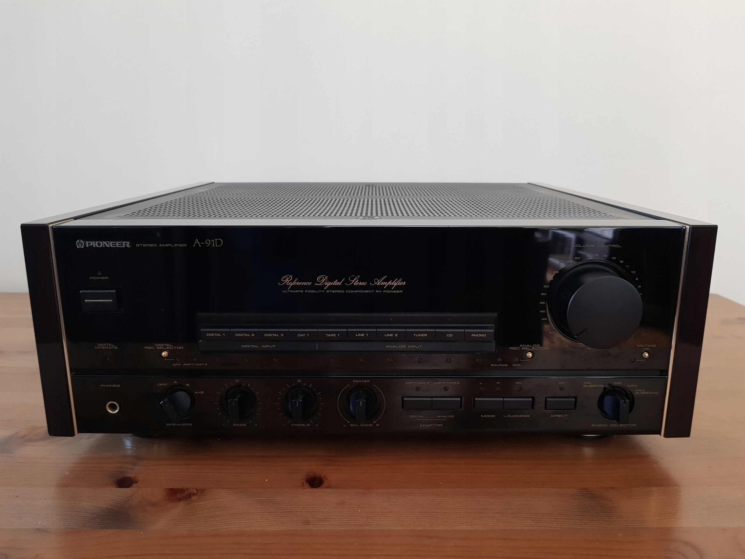 Cyfrowy PIONEER A-91D Reference Digital Amplifier