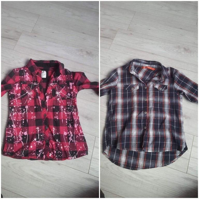 2 koszule w kratę hit jesień terranova