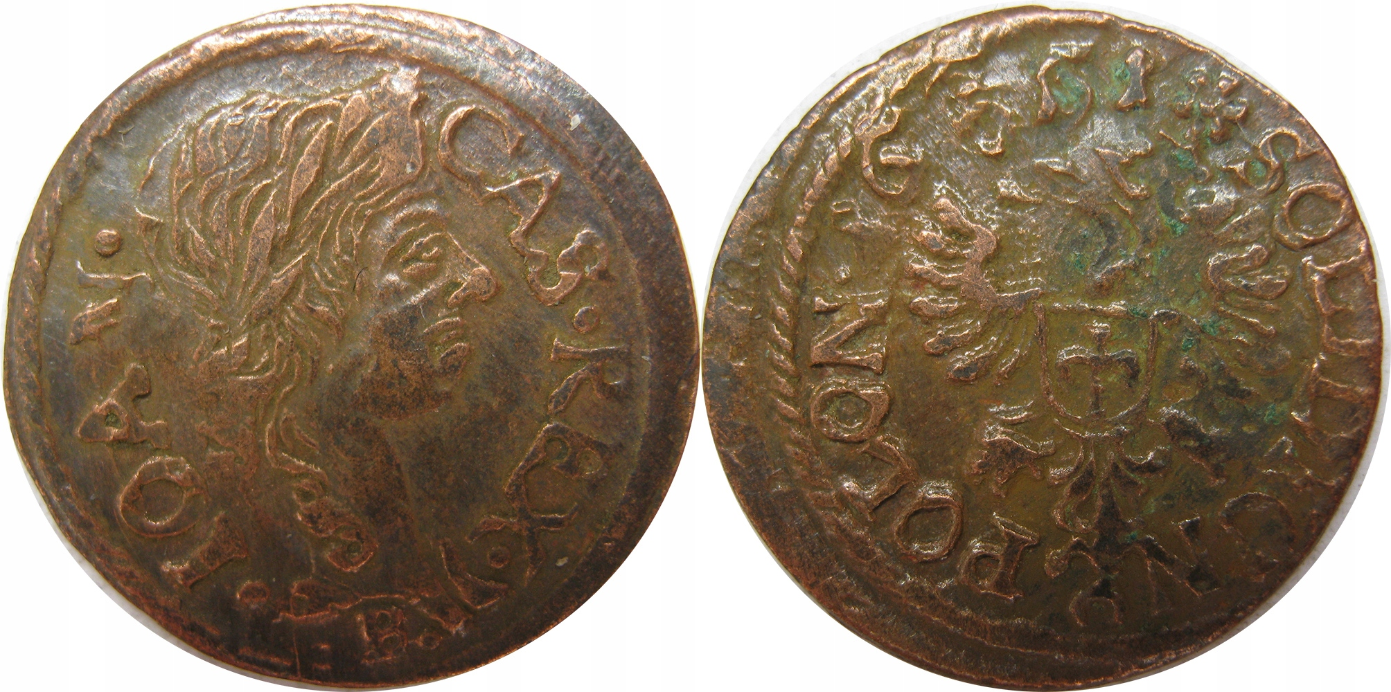 Szelag koronny 1665r, Ujazdów
