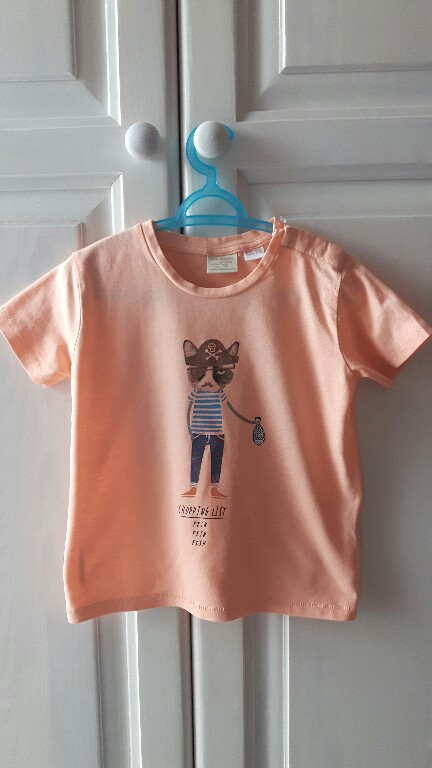 Zara r. 92 bluzeczka T-shirt