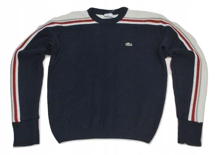 U Modny Sweter Bluza Lacoste M/L wełna prosto z US