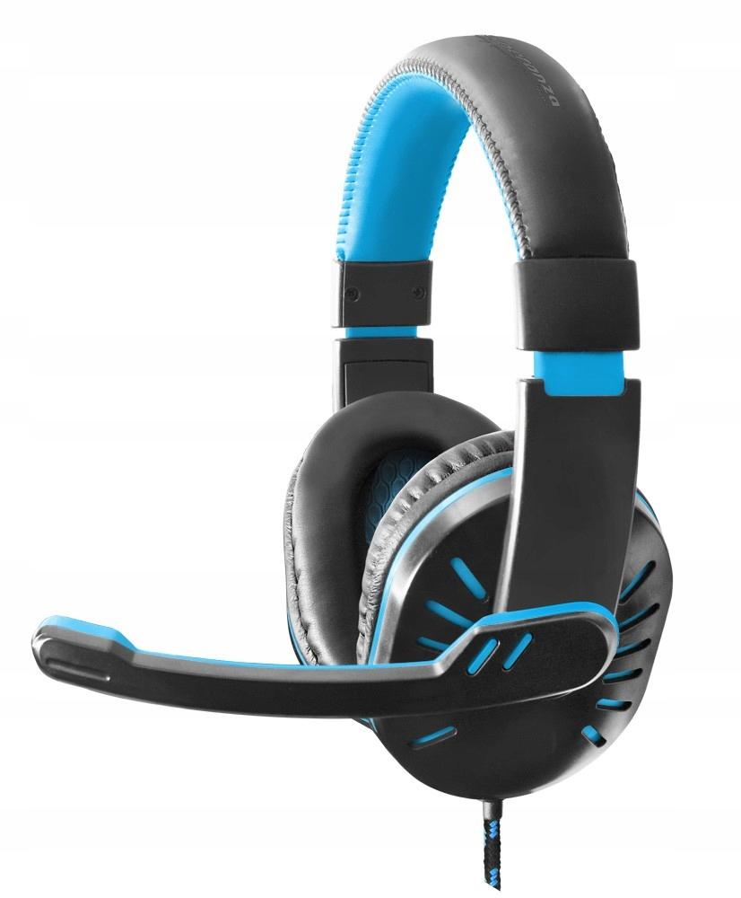 EGH330B Słuchawki z mikrofonem dla graczy Crow