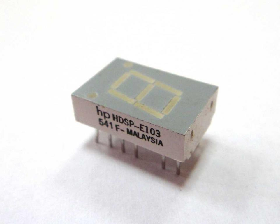 Wyświetlacz LED numeryczny hp HDSP-E103