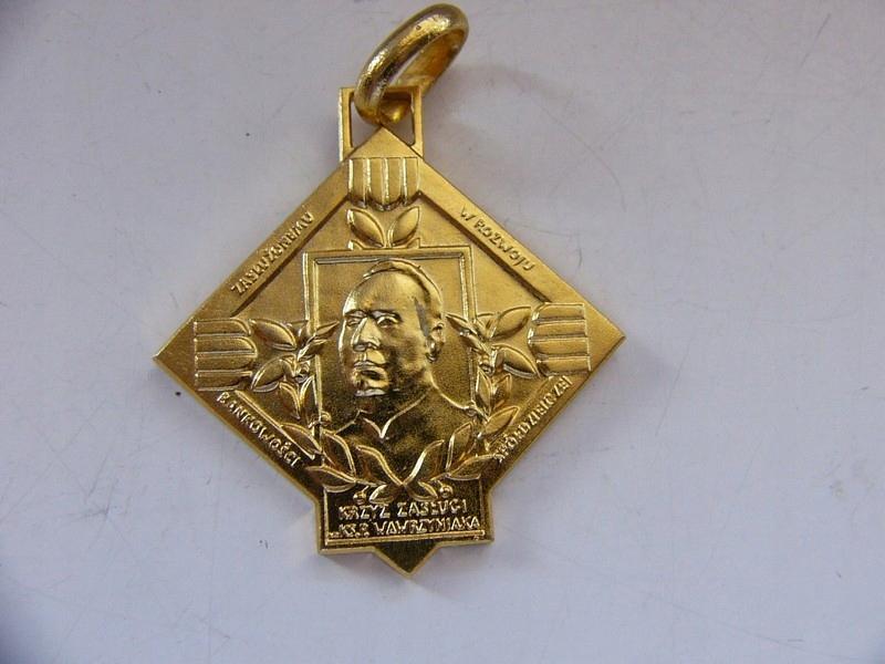 Krzyż Zasługi bankowość spółdzielcza
