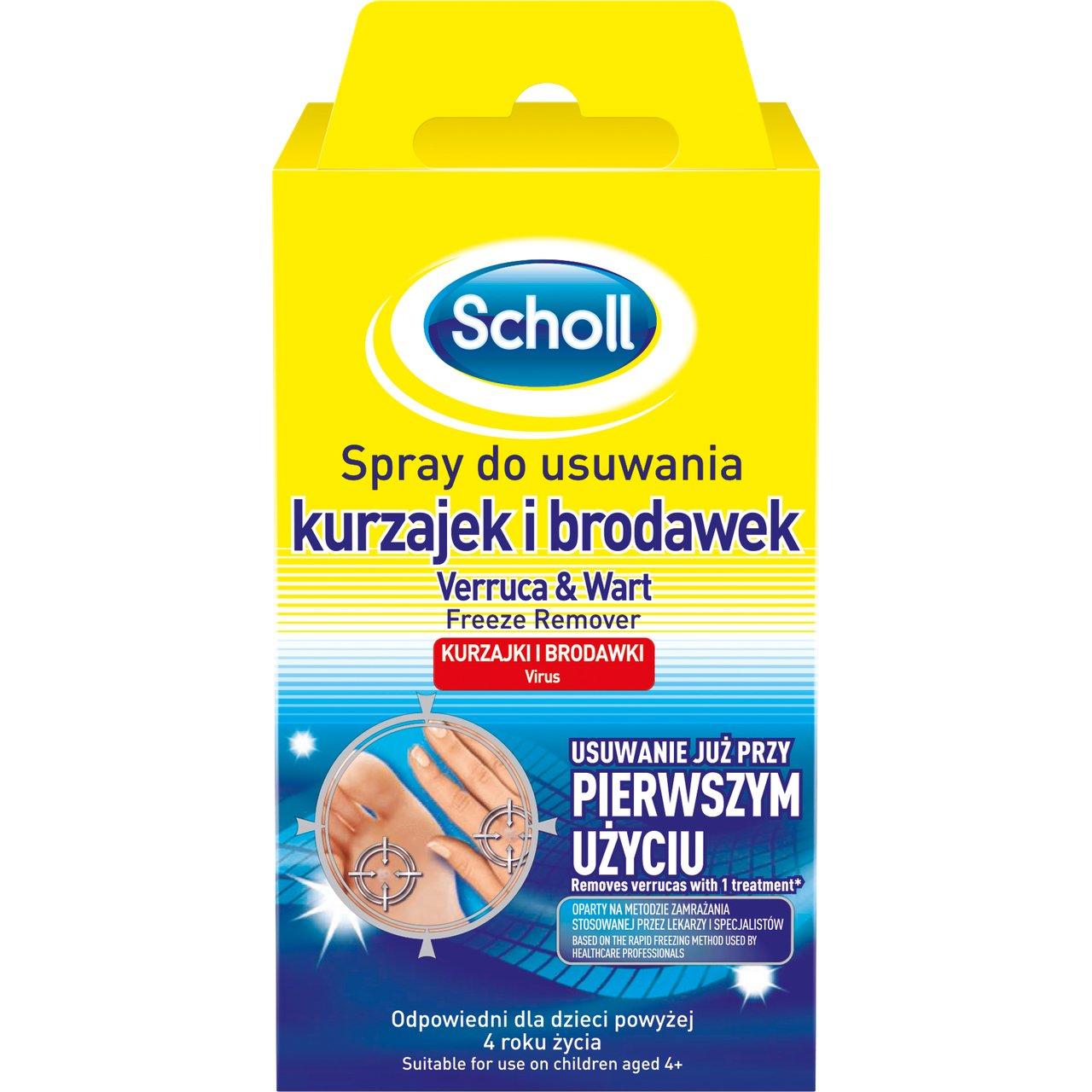 Scholl Spray do usuwania brodawek 80 ml APTEKA