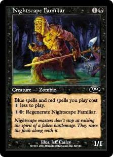Nightscape Familiar Planeshift