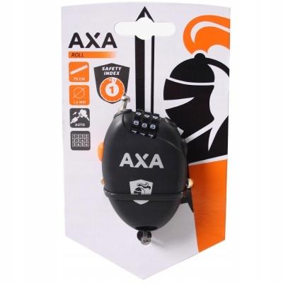 Zabezpieczenie na sakwy kaski AXA Roll Retractble