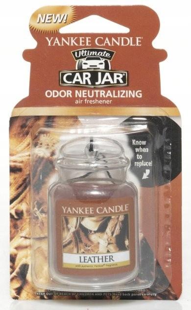 Yankee Candle Zawieszka do Samochodu LEATHER
