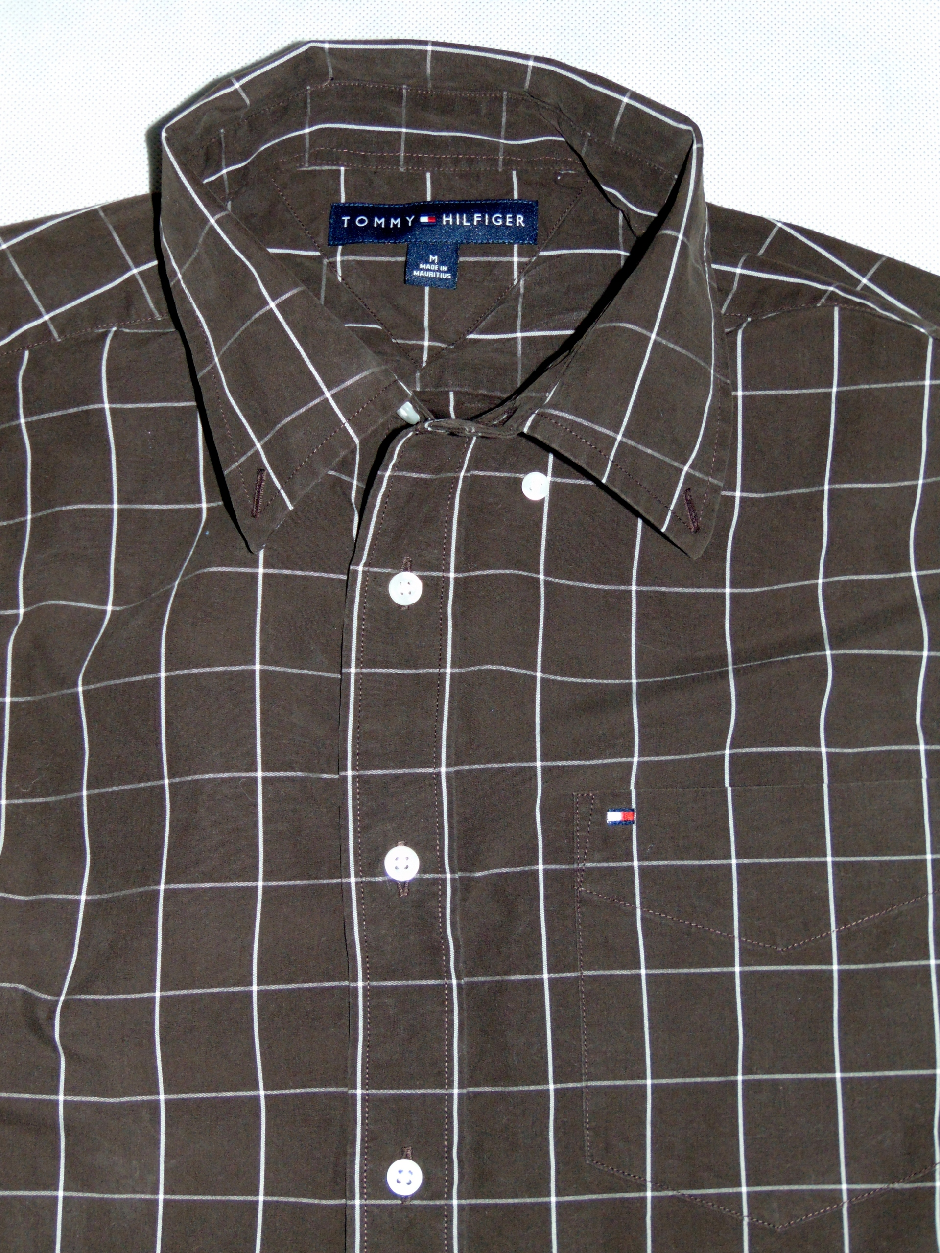 04a314f52 TOMMY HILFIGER koszula męska z kieszonką r M - 7630974965 ...