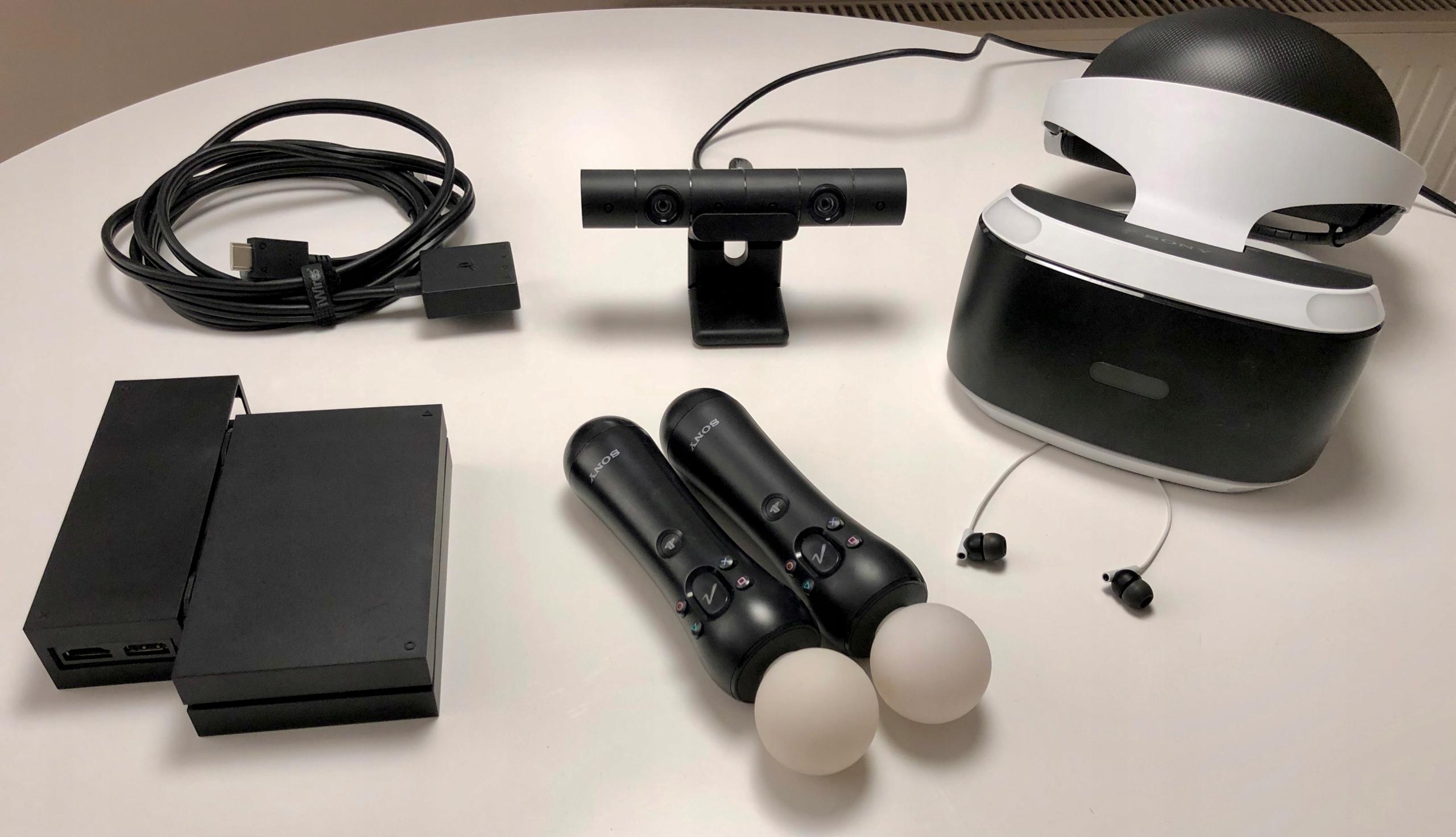 PlayStation VR PS4 / KAMERA / 2X MOVE / Gwarancja