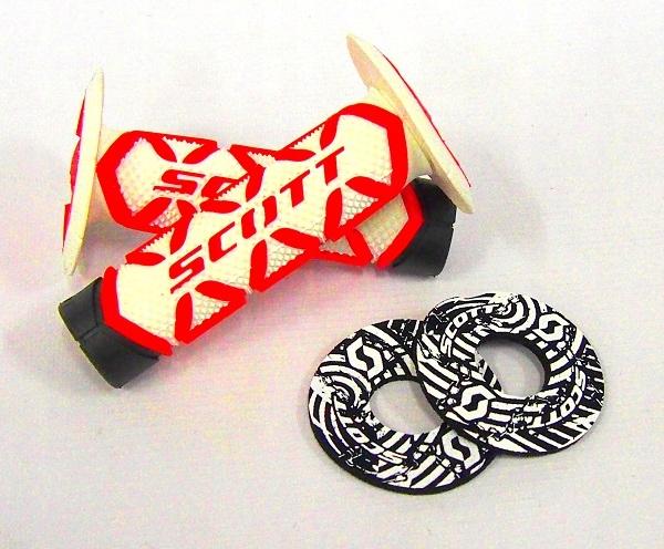 Manetki Scott Diamond + donut, Cross, Enduro BIAŁE