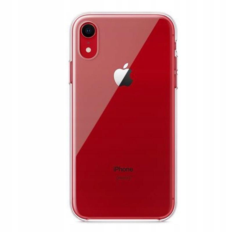 Apple Clear Case - Etui iPhone XR (przezroczysty)