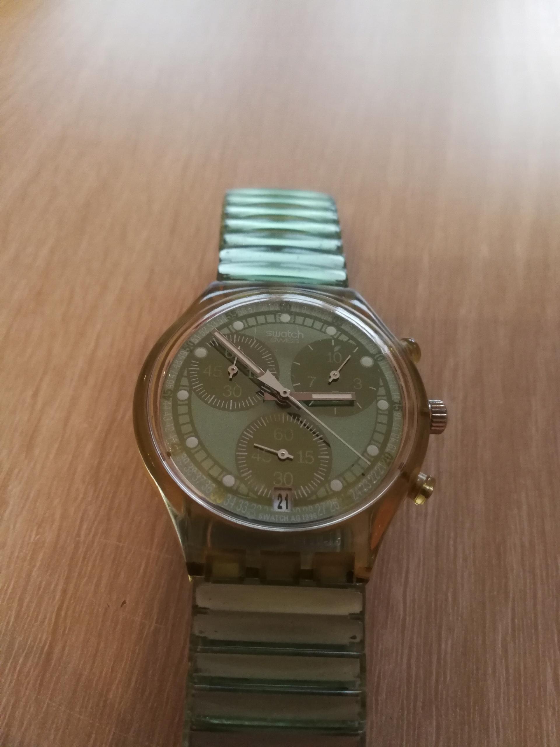 Swatch-chronograf