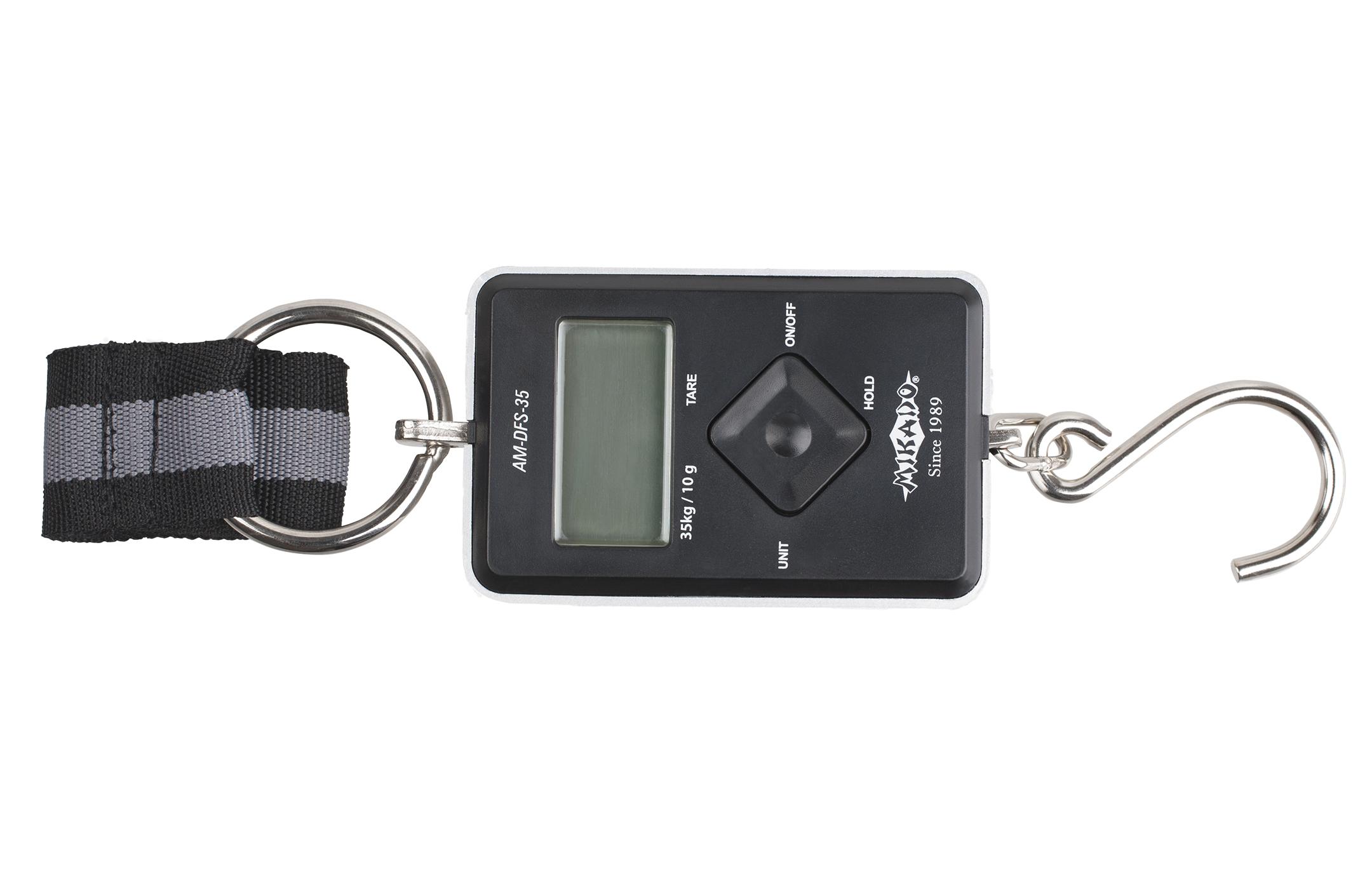 MIKADO waga elektroniczna wędkarska do 35 kg