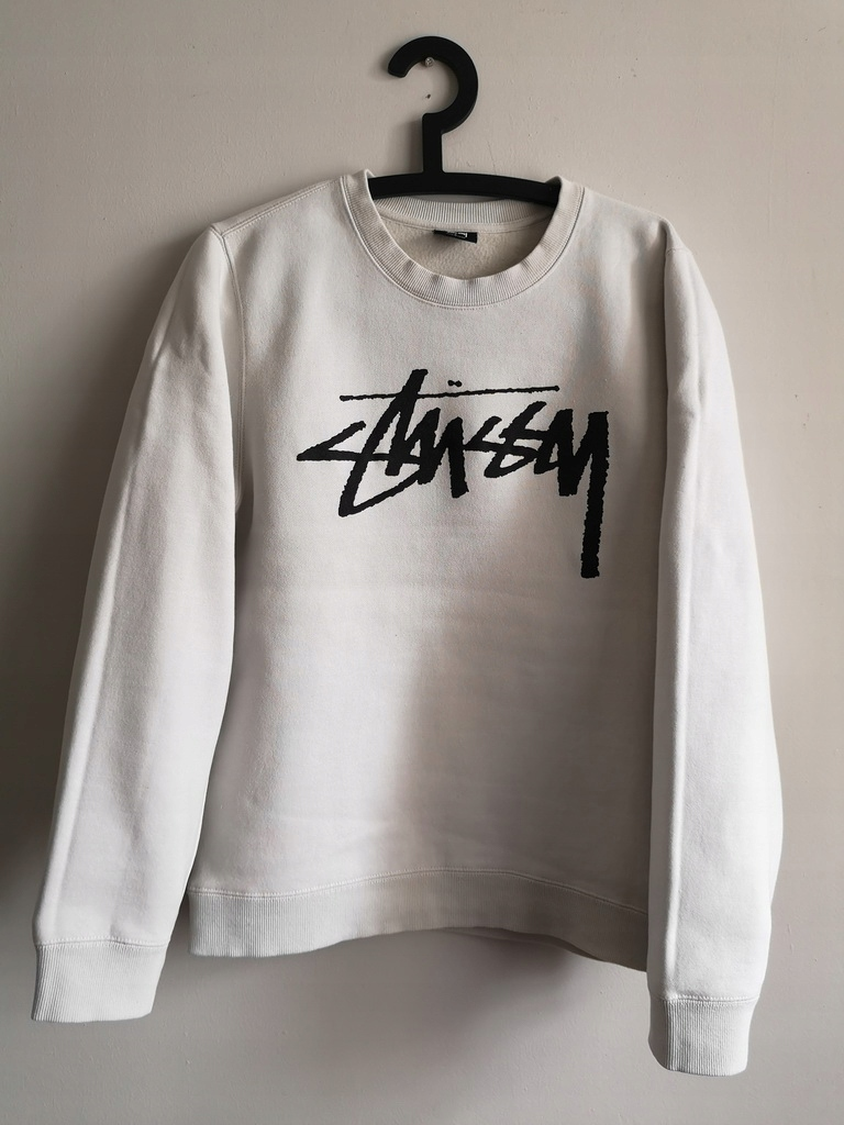 STUSSY___oryginalna damska bluza LOGO prosto__40/L