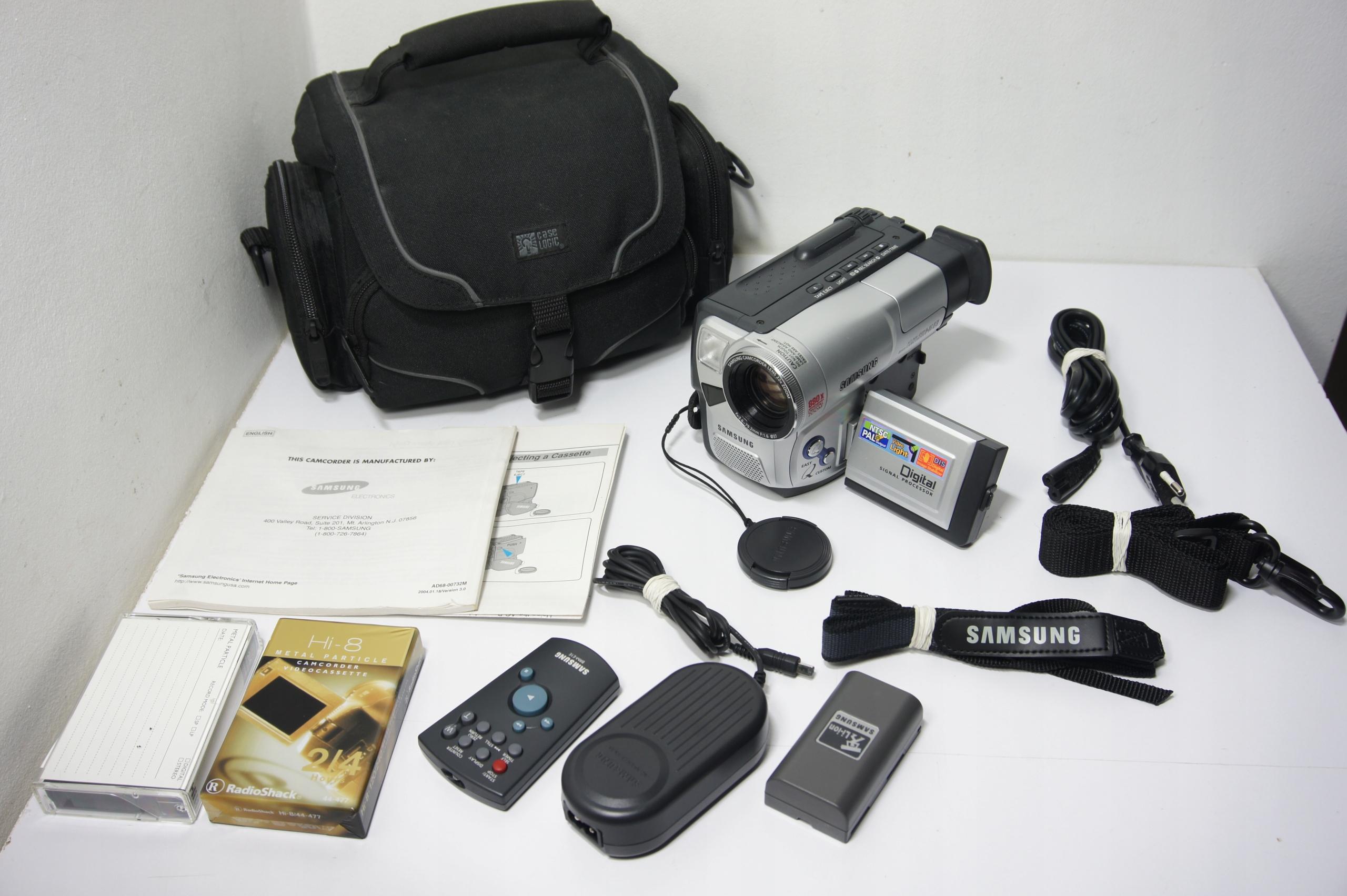 Kamera Analogowa Hi-8 Samsung SCL906 Hi-END LCD