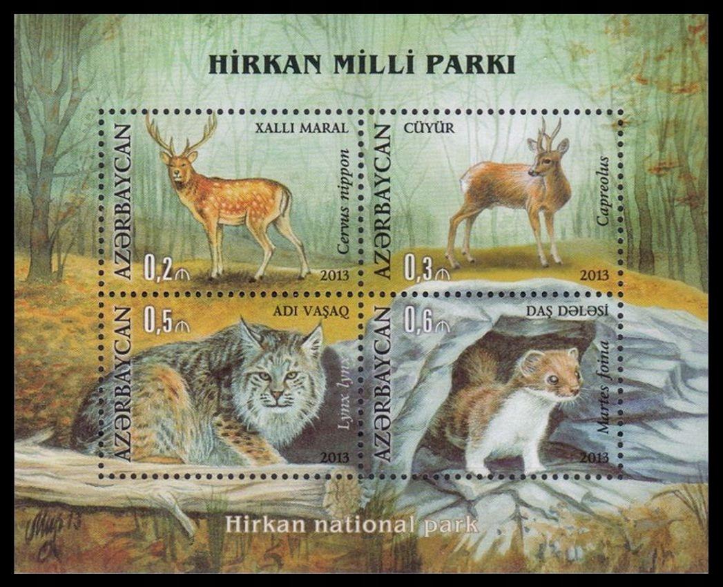 AZERBAIJAN - FAUNA - 2013 r. - MNH(**)