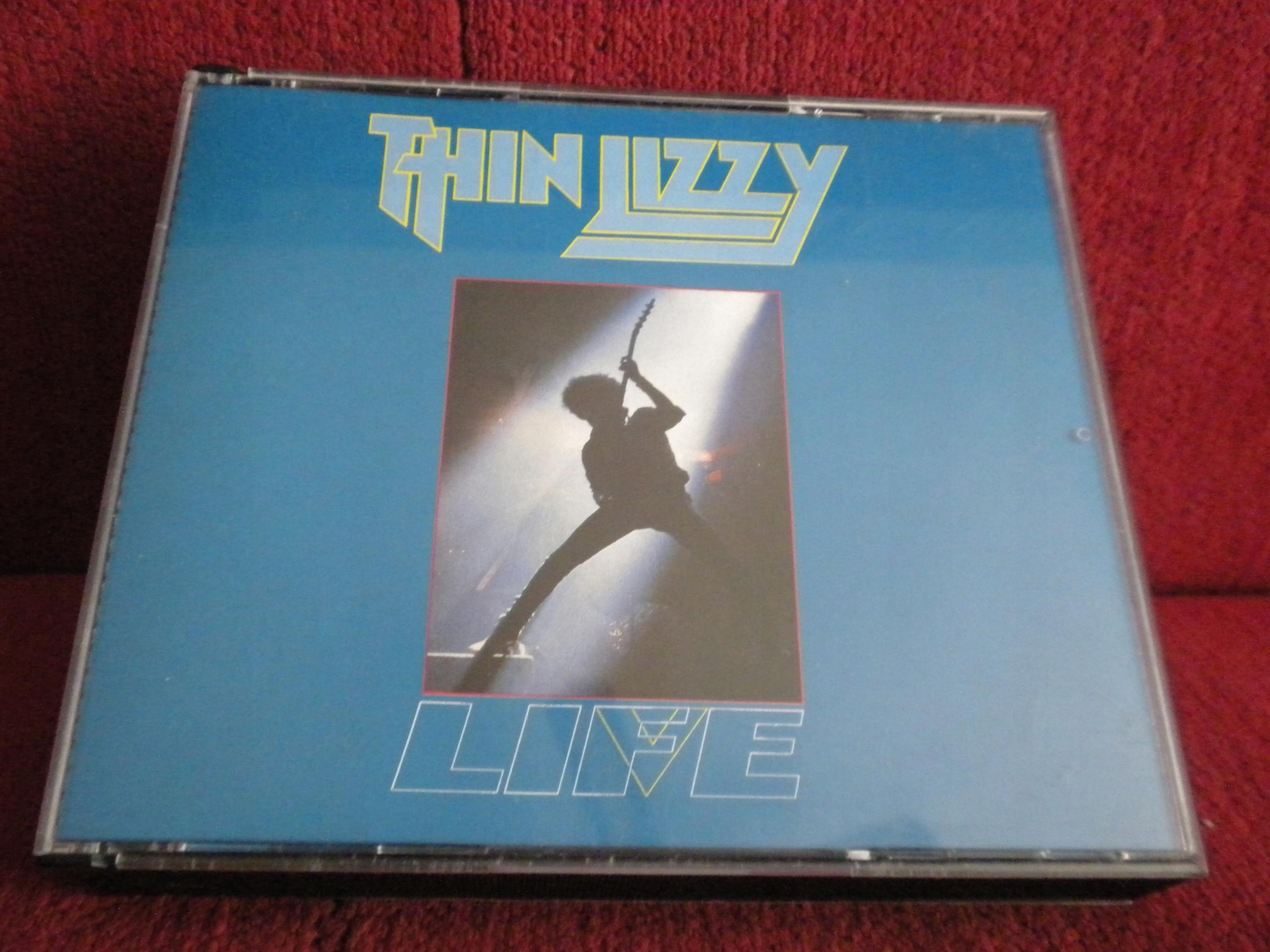 THIN LIZZY Life - Live FATBOX metallica tsa black