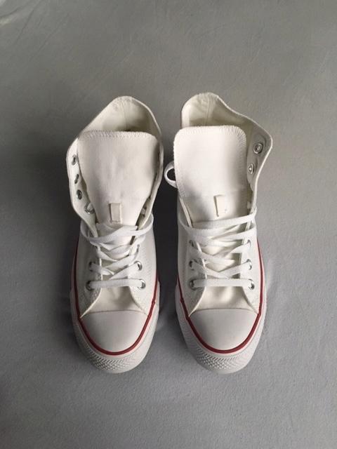 Trampki Converse białe wysokie roz. 42 -27 cm
