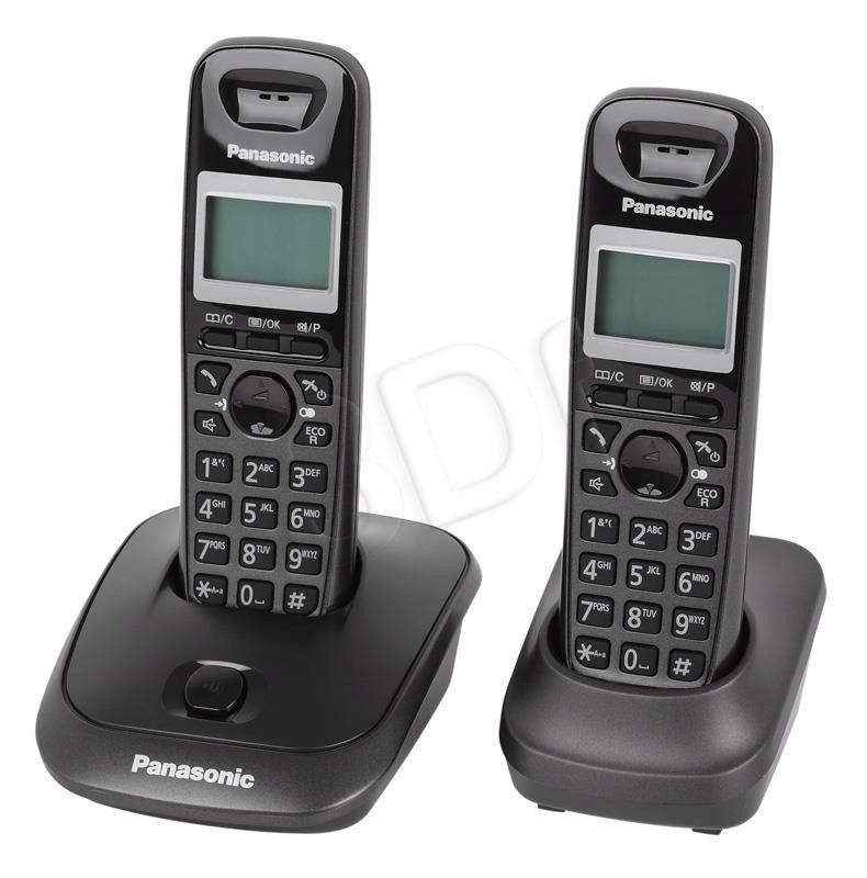 Telefon stacjonarny Panasonic KX-TG2512PDT