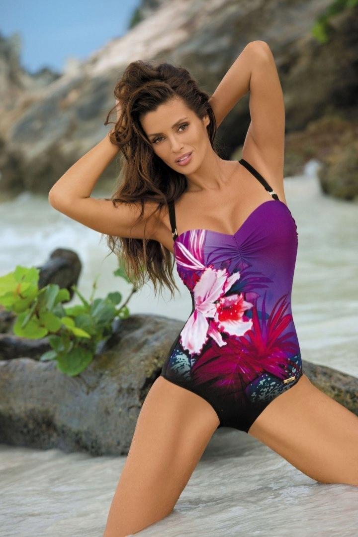 Kostium kąpielowy Nicole Nero-Mirto M-378 (2)