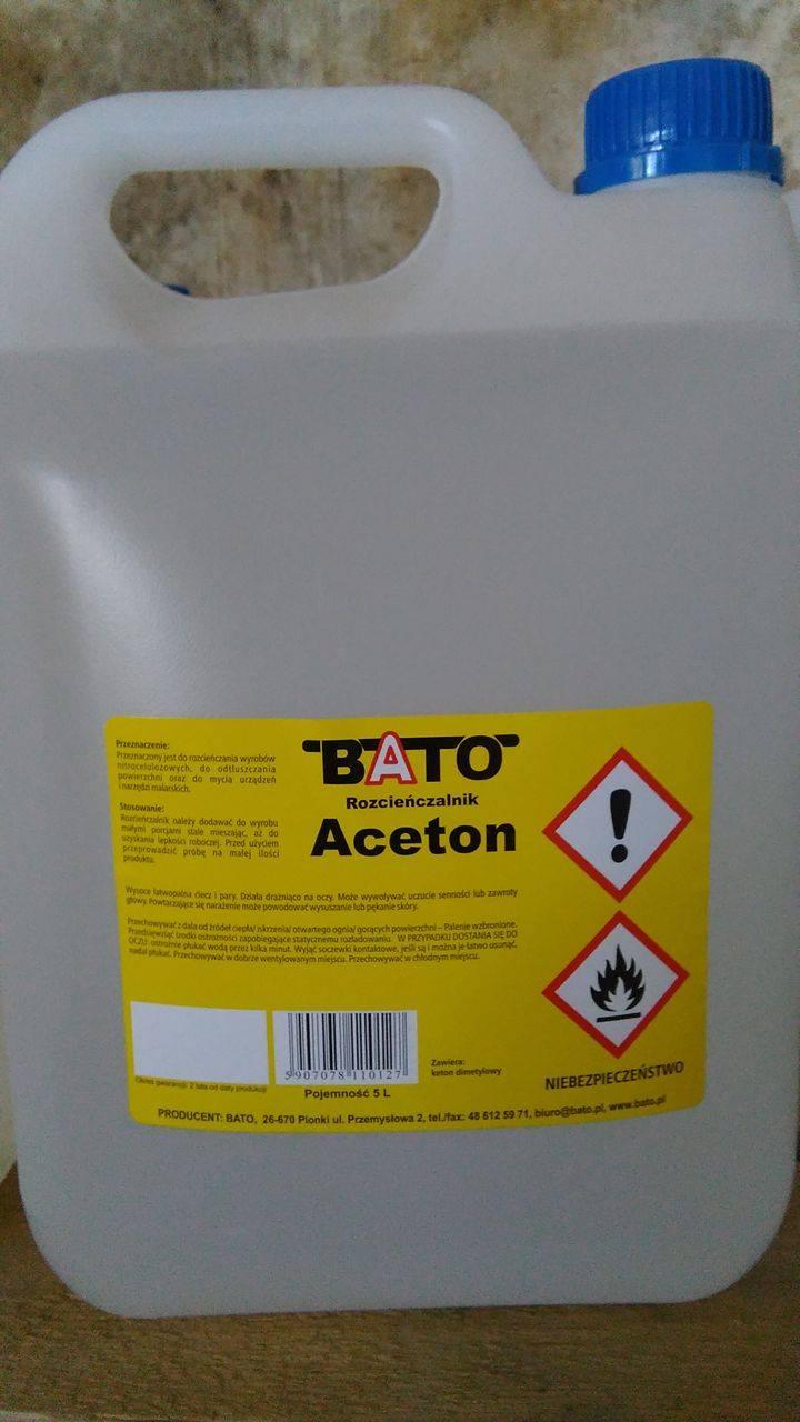 ACETON 5L BATO kleje lakiery wysoka jakość