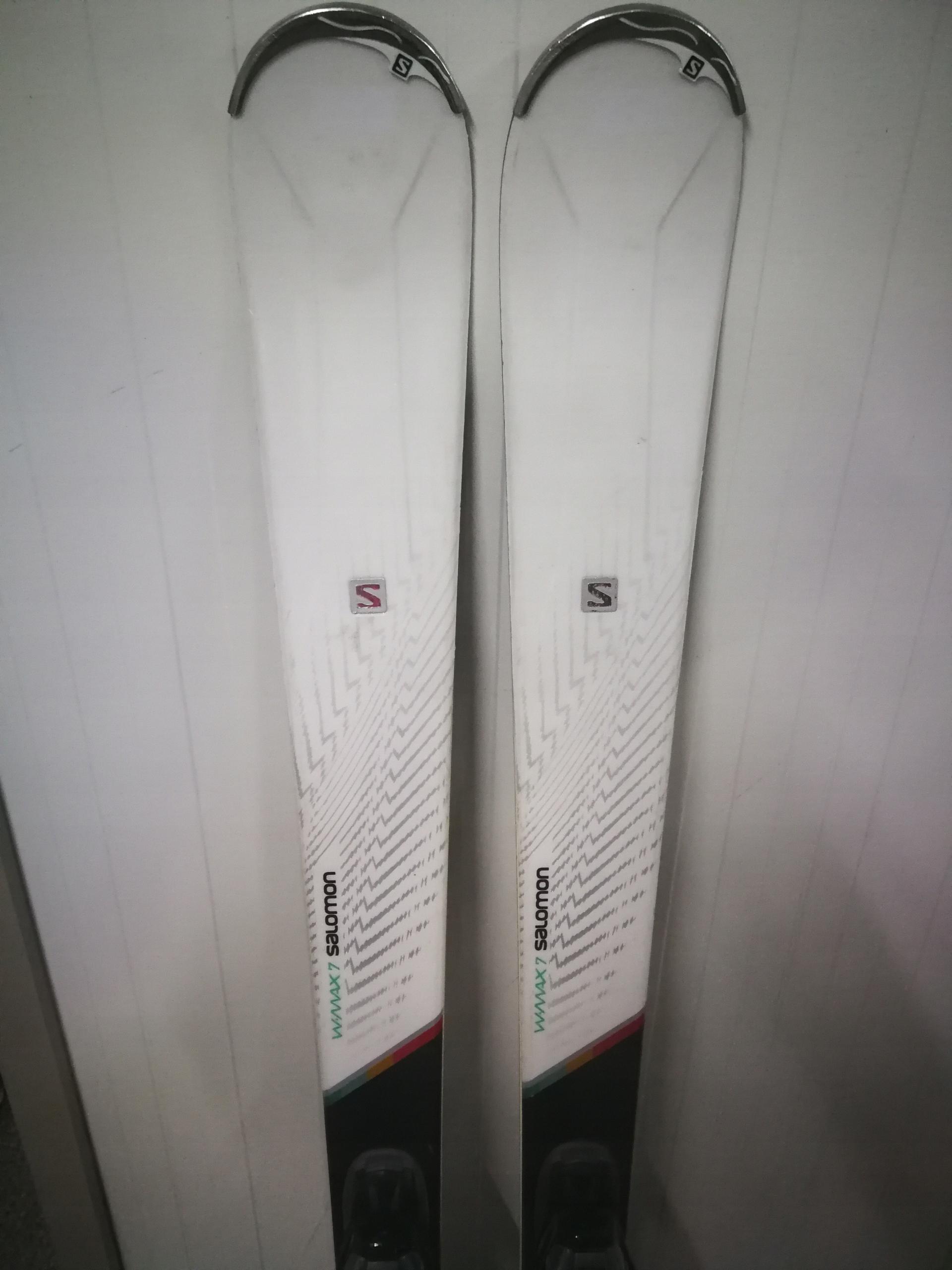 SALOMON W-MAX7 + Salomon Lithium 10 162 cm