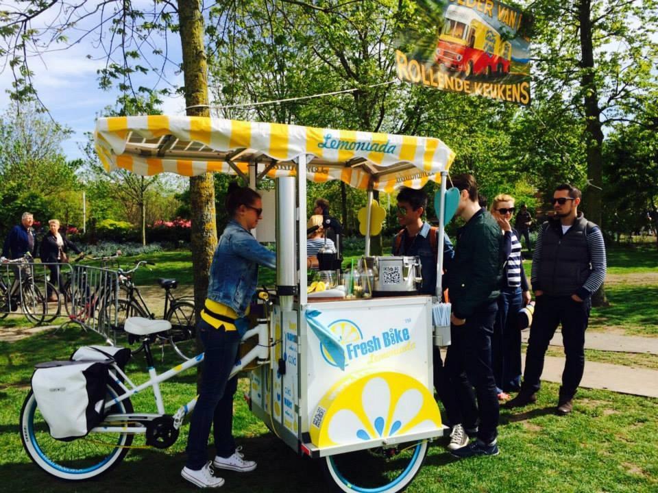 Rower sprzedażowy gastronomiczny- Fresh Bike