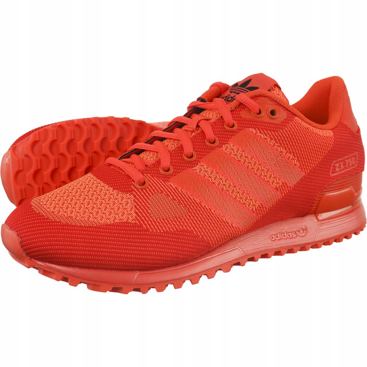 Adidas originals ZX 750 buty sneaker czerwone red adidasy trampki 39 13