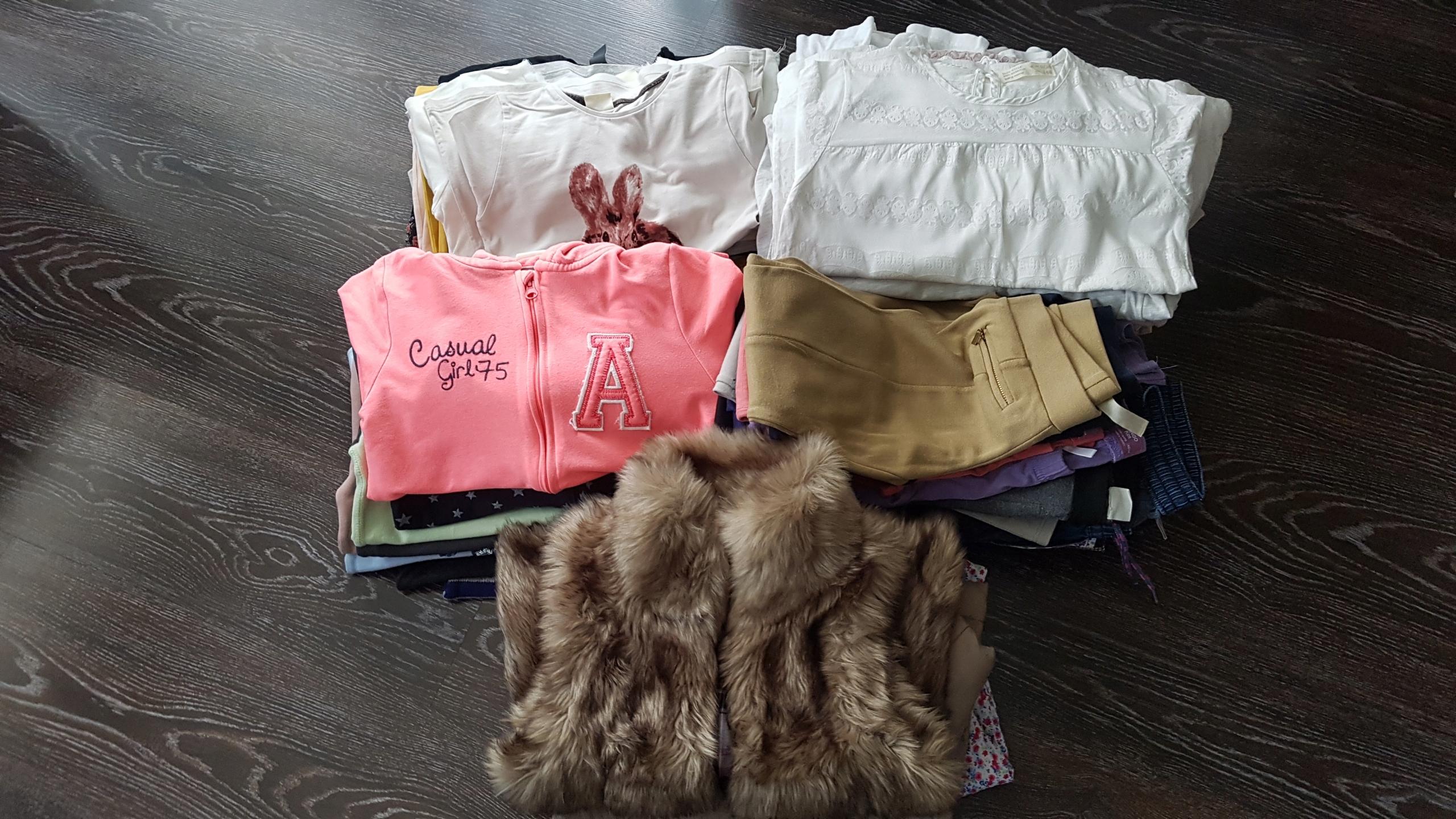 Dziewczynka 140 Zara H&M Next zestaw 73szt