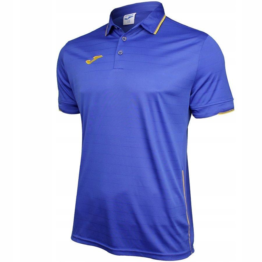 Koszulka polo Joma Torneo S niebieski