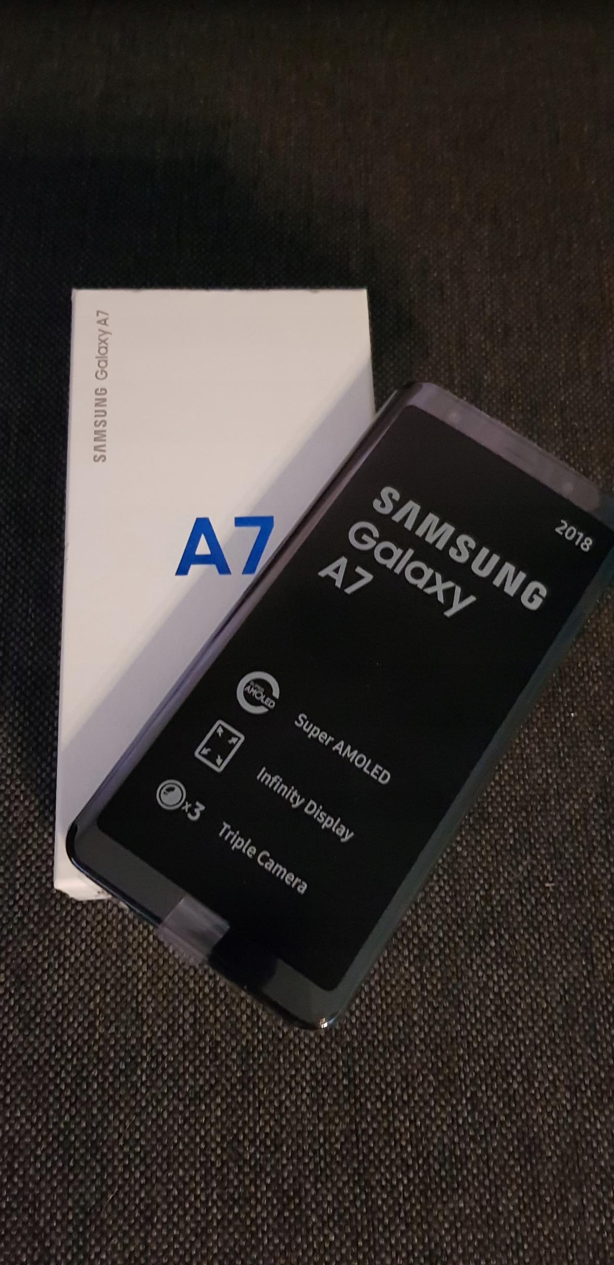 dc72e76d8fc Nowy Samsung A7 2018 A750 MEDIA MARKT - 7771798769 - oficjalne ...
