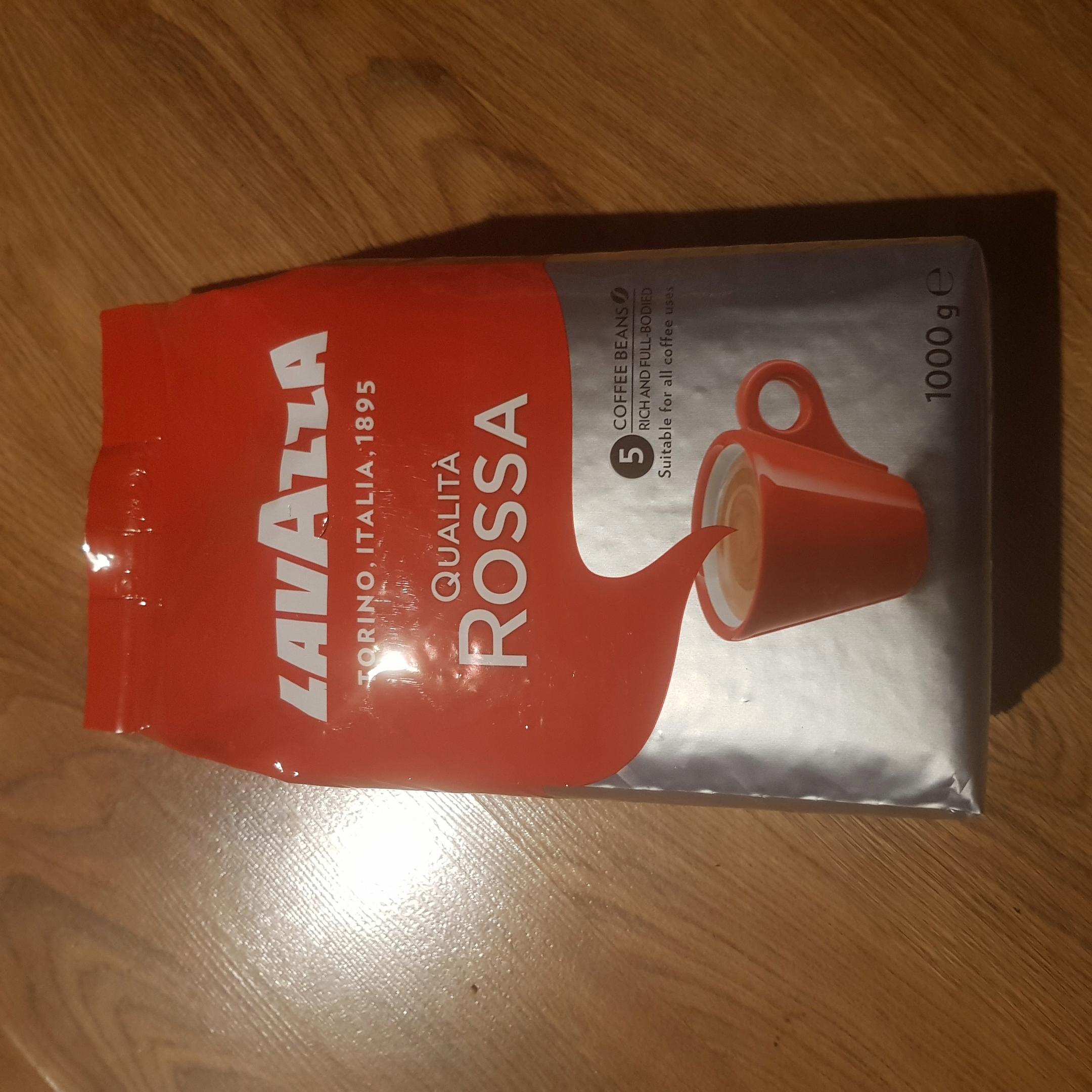 Kawa Lavazza Rossa Niemiecka ziarnista 1kg