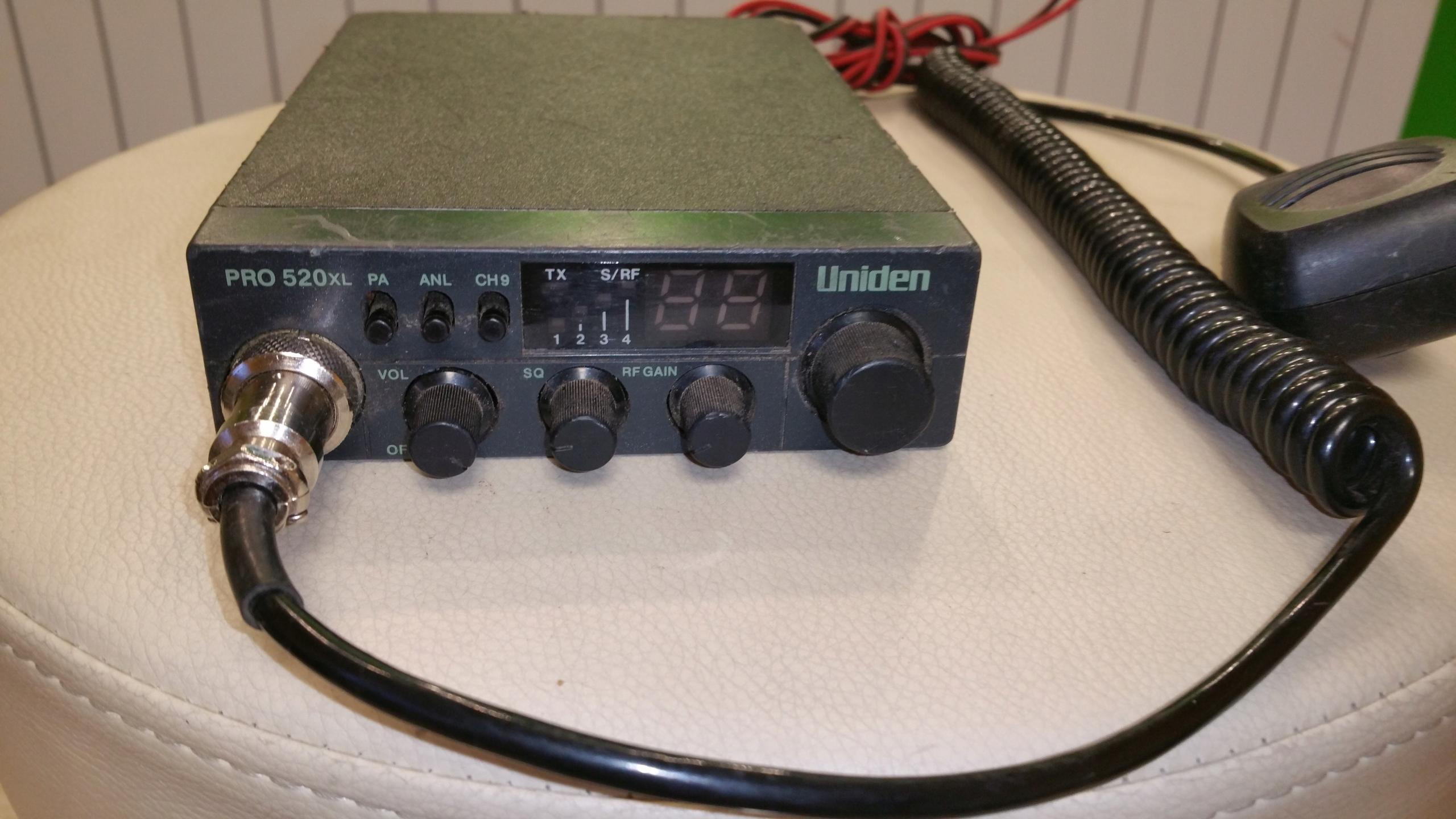 UNIDEN PRO 520 XL CB-RADIO SPRAWNE W 100% + GRUCHA