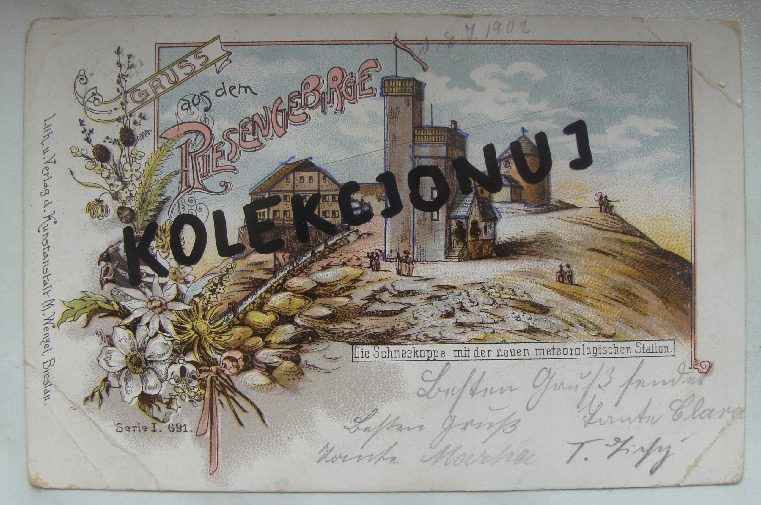 P88. Riesengebirge - Karkonosze - Śnieżka 1902
