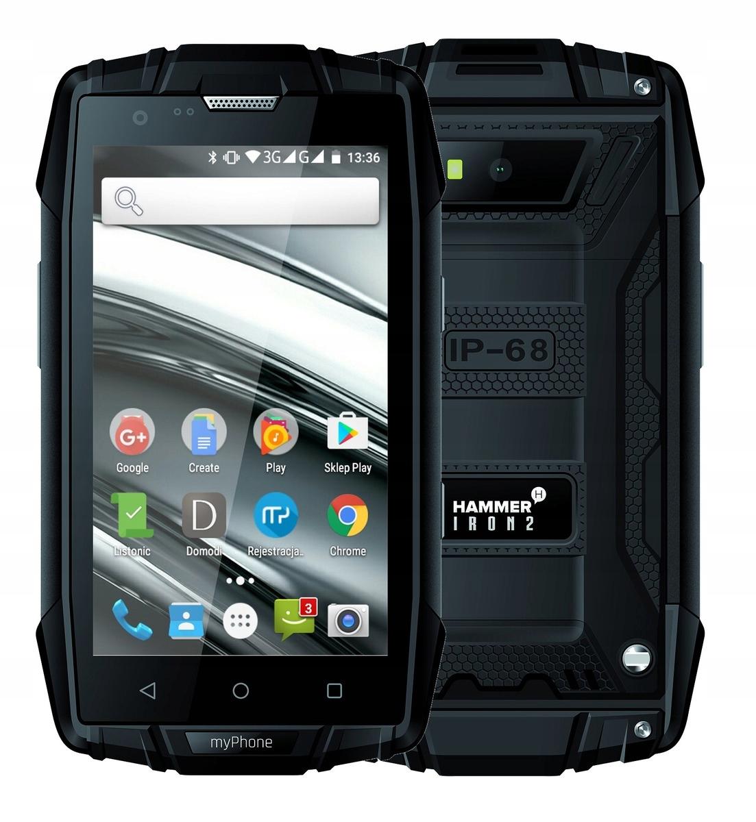 OUTLET Smartfon MYPHONE Hammer Iron 2 Czarny